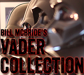 Bill McBride's Darth Vader Collection