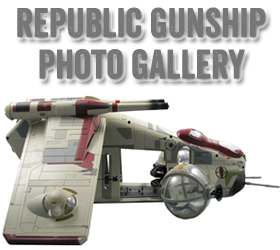 Star Wars Republic Gunship Photo Gallery