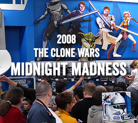 Star Wars The Clone Wars Midnight Madness Event