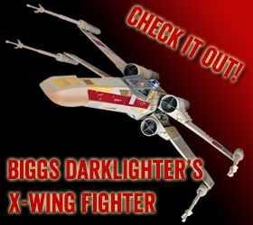 Star Wars Biggs Darklighter's X-Wing Fighter