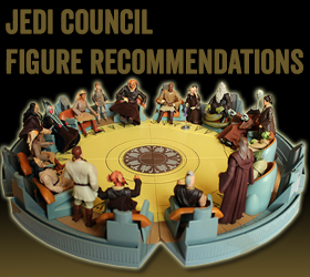 Star Wars Jedi Council Figure Recommendations