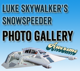 Star Wars Luke Skywalker's Snowspeeder