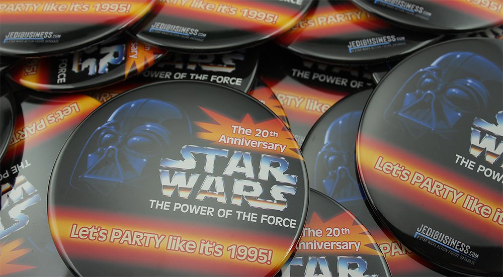 Star Wars The Power Of The Force Buttons