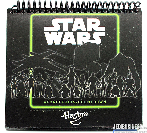Star Wars Force Friday Countdown Calendar By Hasbro