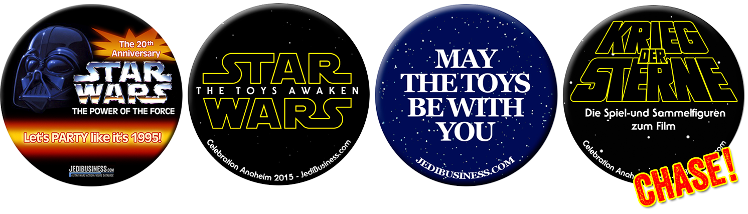 Star Wars Buttons By JediBusiness.com For Star Wars Celebration Anaheim 2015