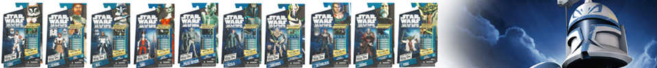 The Clone Wars Action Figures