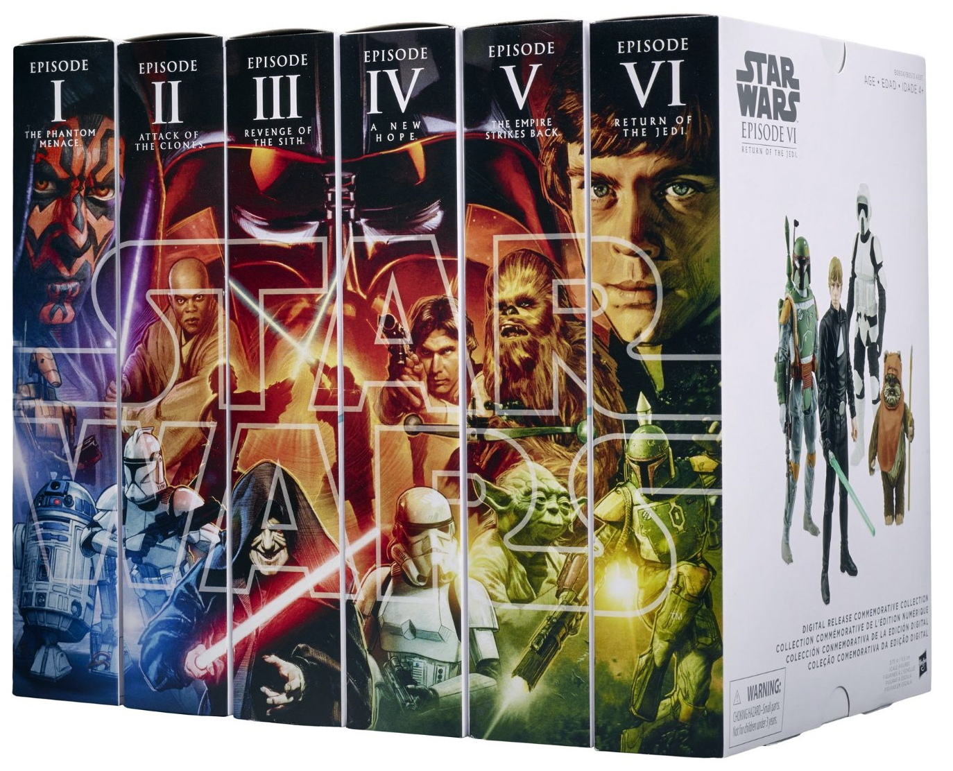 Star Wars Digital Release Commemorative Collection box set