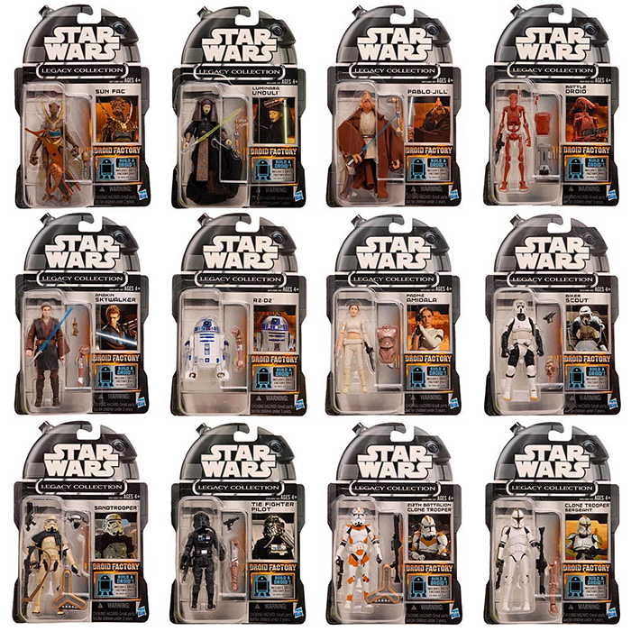 Star Wars Cancelled The Legacy Collection