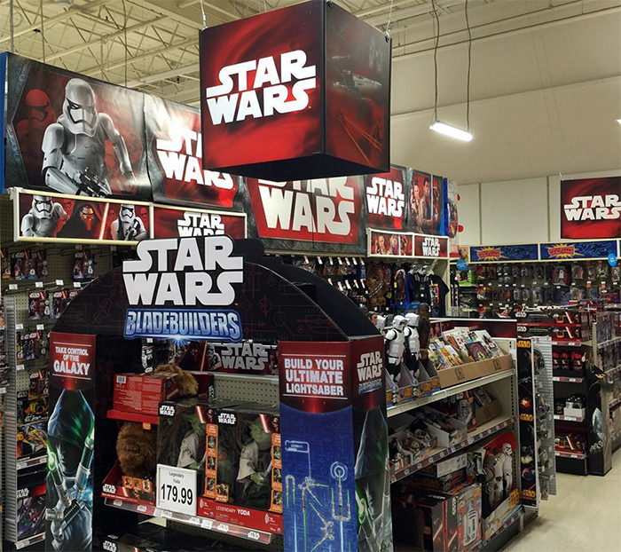 Star Wars The Force Awakens At Toys'R'Us Lynnwood, WA