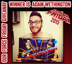Star Wars Force Friday 2015 Winner Adam Wethington