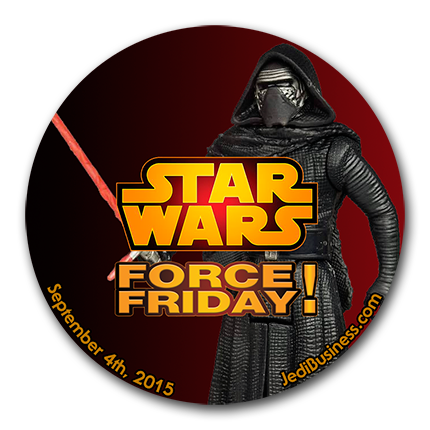 Star Wars Force Friday Button