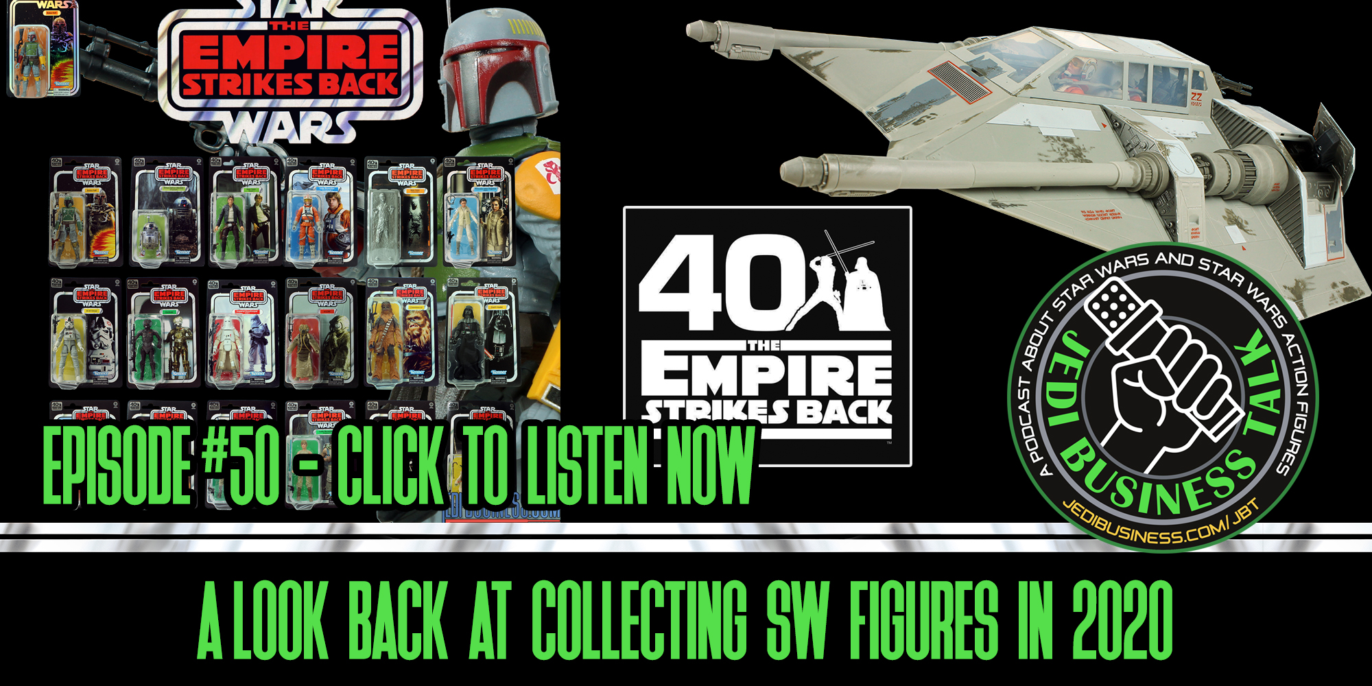 JBT Jedi Business Talk - A Look Back At Collecting SW Figures In 2020