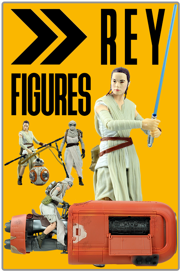 Look at all the Rey Figures