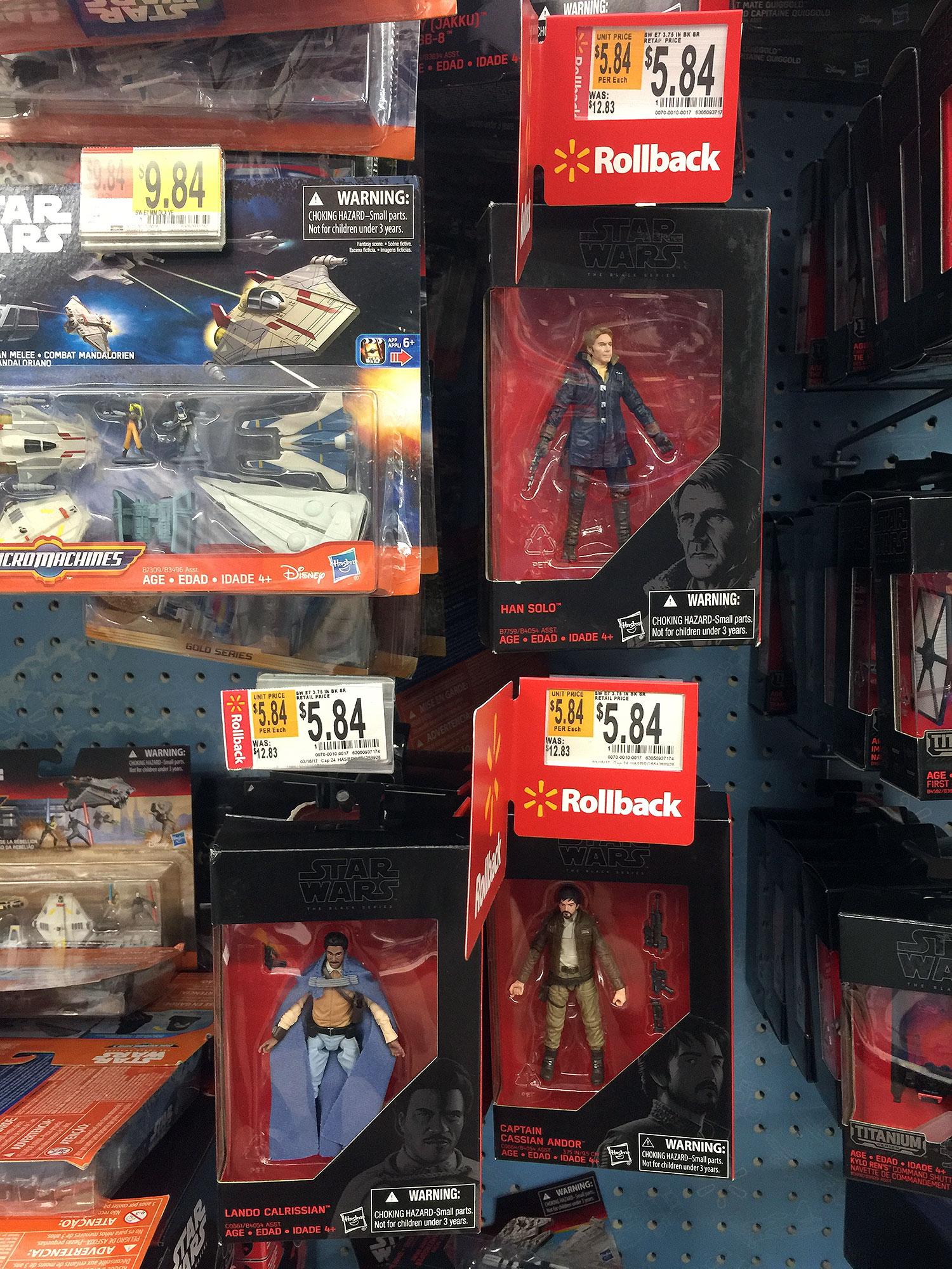 Star Wars Toys At Walmart