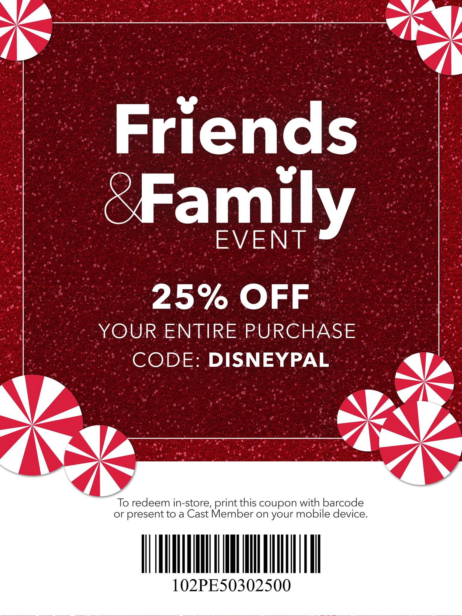 Disney Star Wars Friends And Family Sale 2018