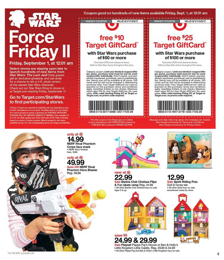 Force Friday at Target 2017
