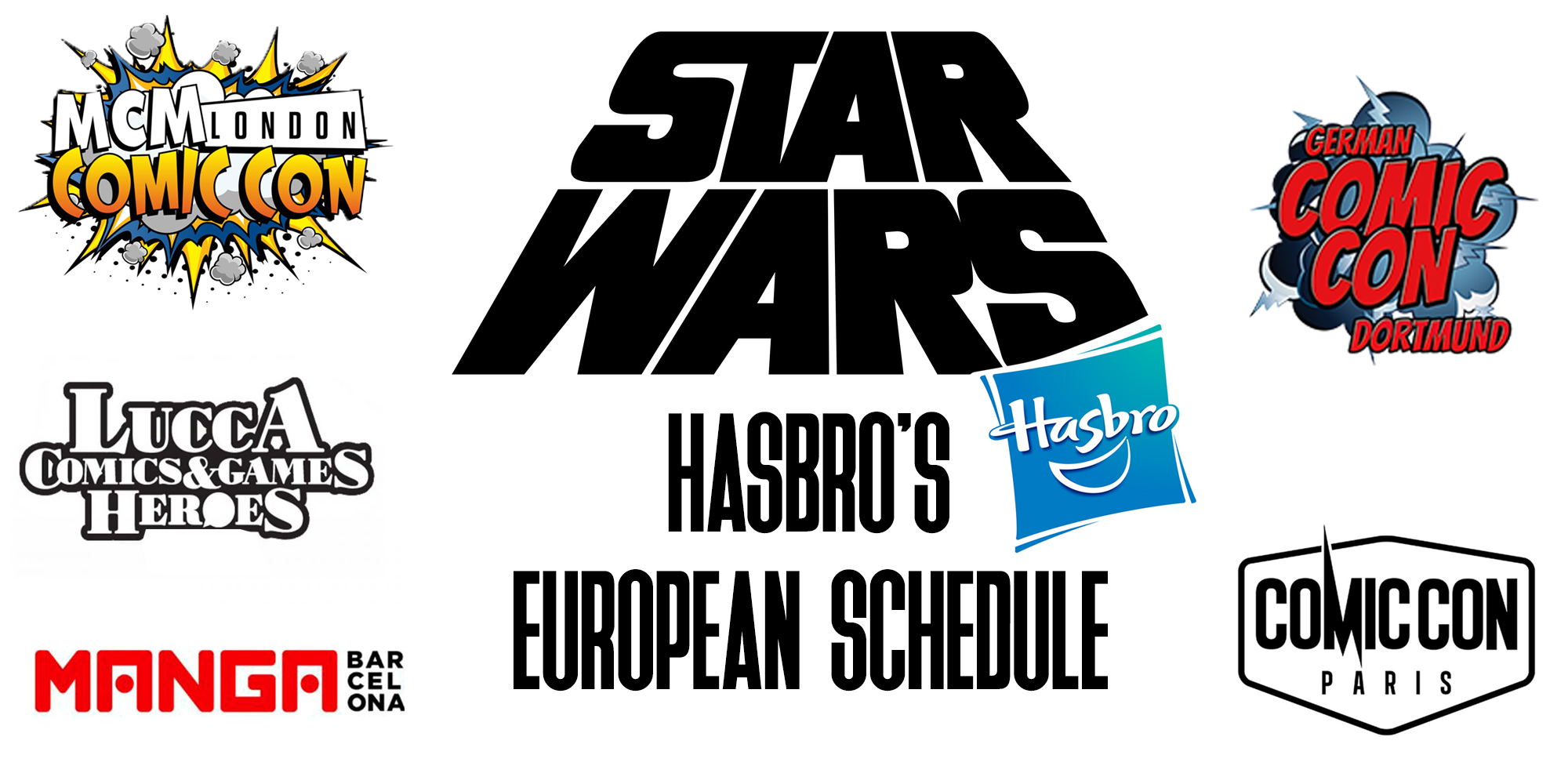 Hasbro European Convention Schedule