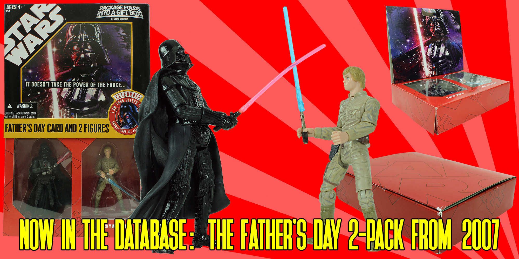 Star Wars Father's Day Figures