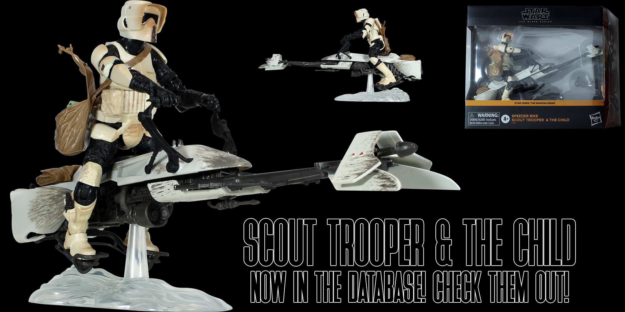 Black Series Biker Scout