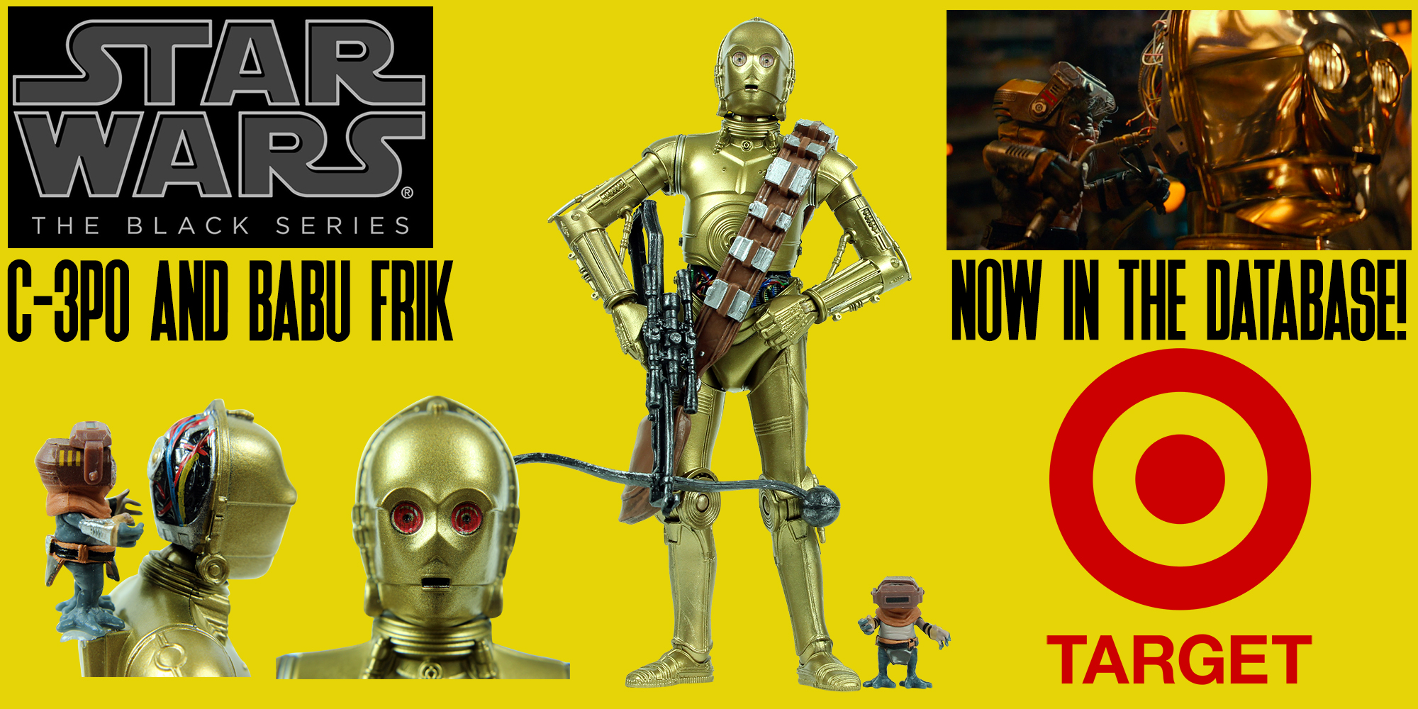 "New Addition: Black Series 6"" C-3PO And Babu Frik"