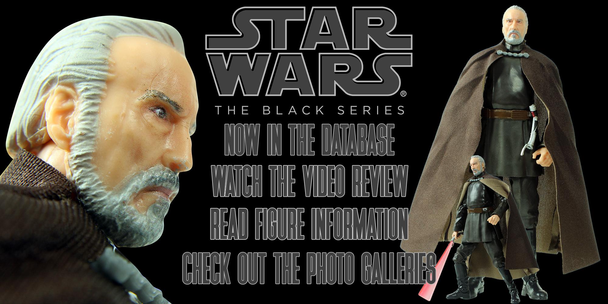 Black Series Count Dooku