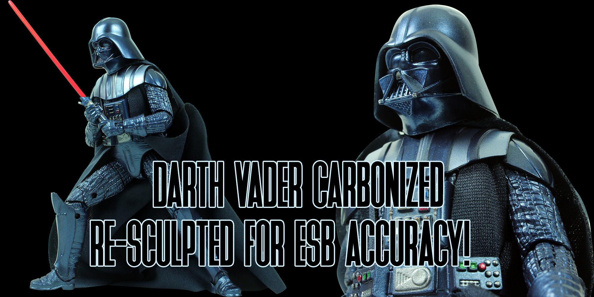 Black Series Darth Vader Carbonized