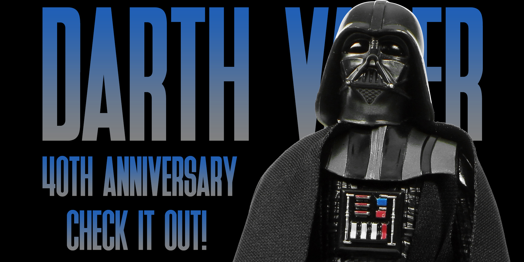 Black Series Darth Vader ESB Anniversary