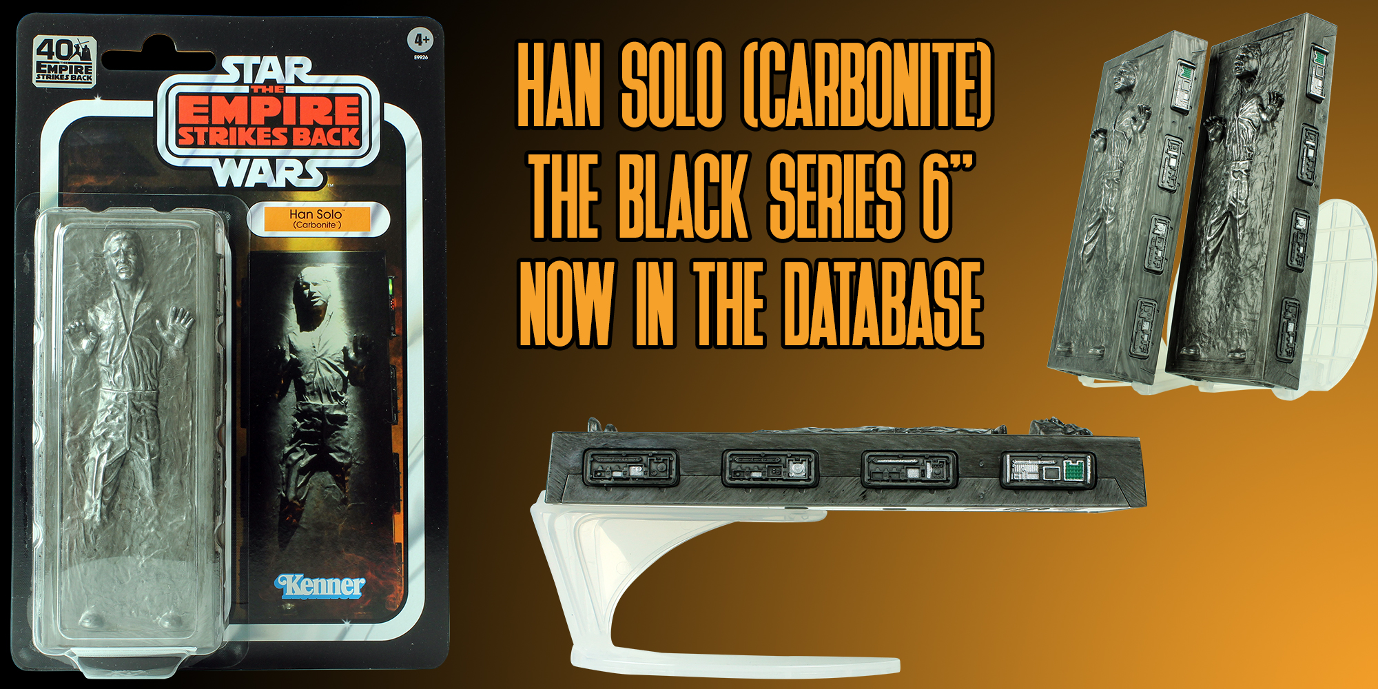 Black Series Han Solo Carbonite