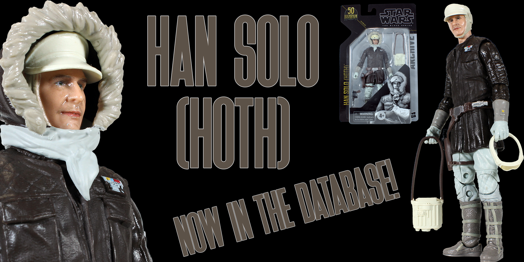 Black Series Han Solo Hoth Archive