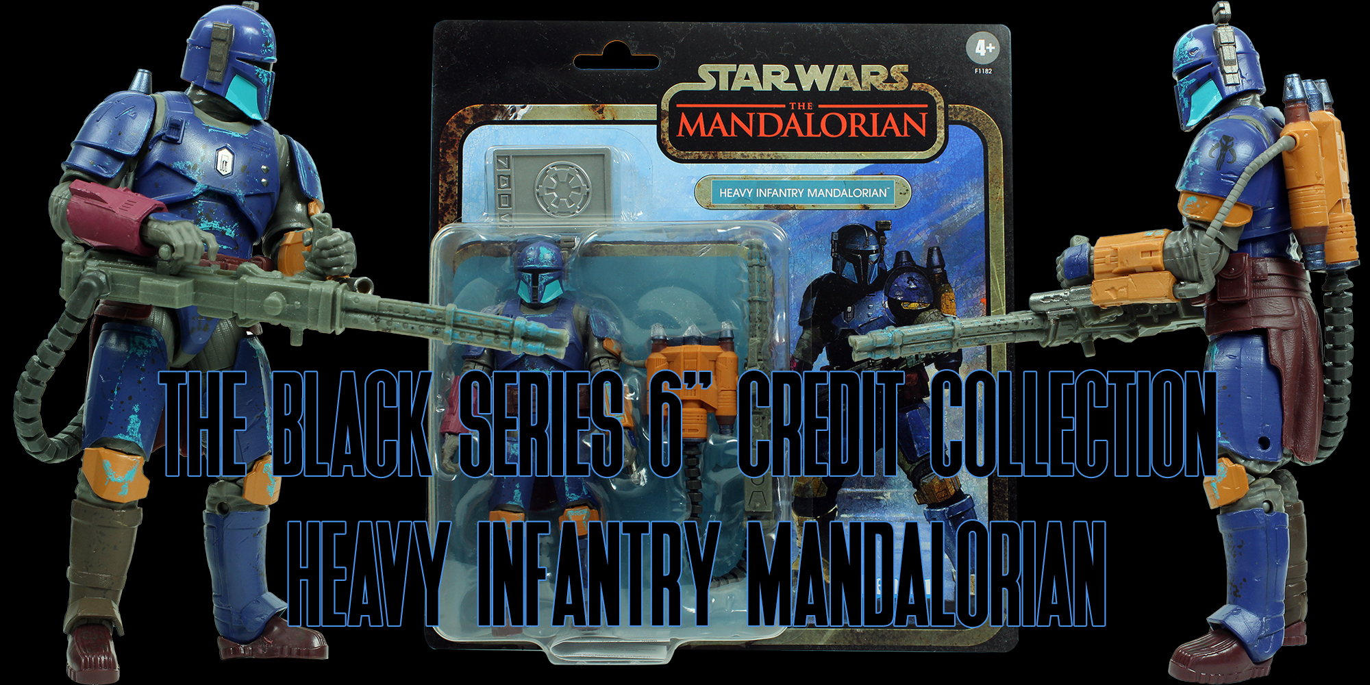 Black Series Heavy Infantry Mandalorian Credit Collection
