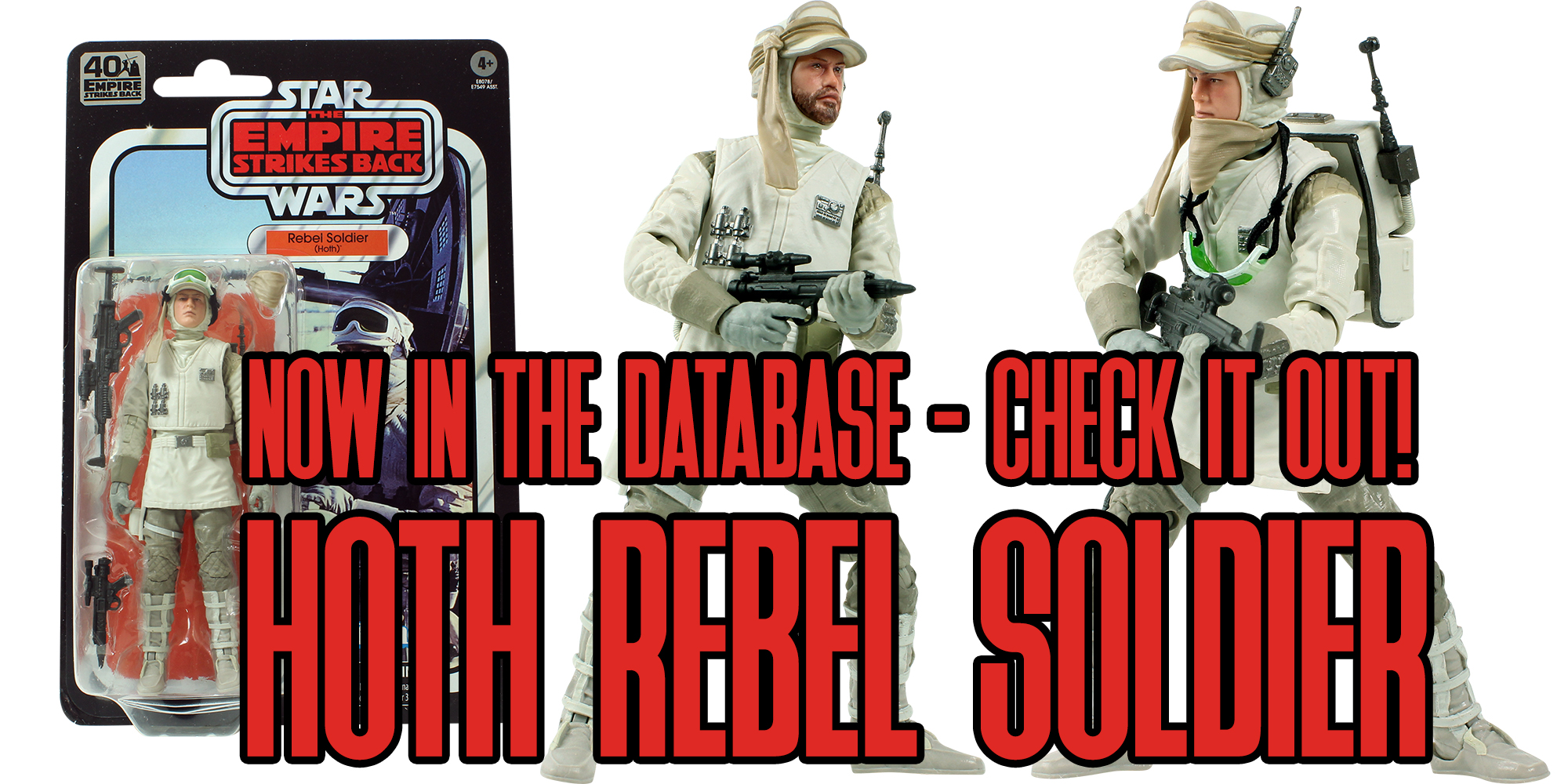 Black Series Hoth Rebel Soldier