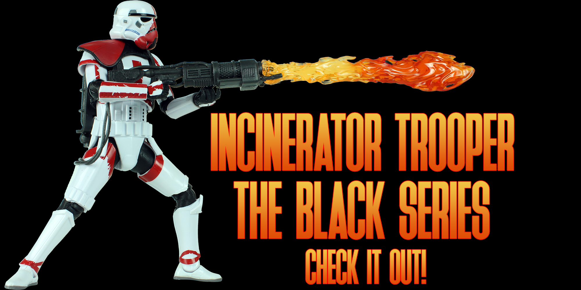 Black Series Incinerator Trooper