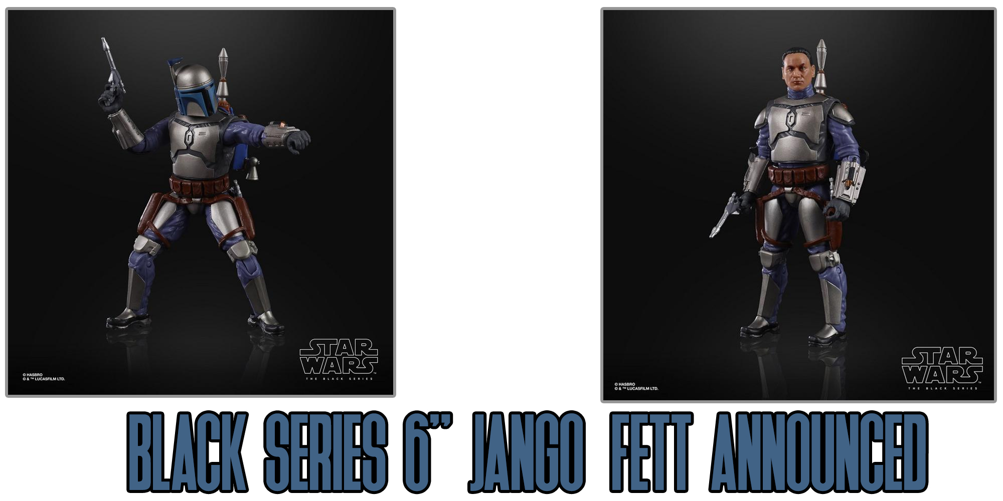 Black Series Jango Fett