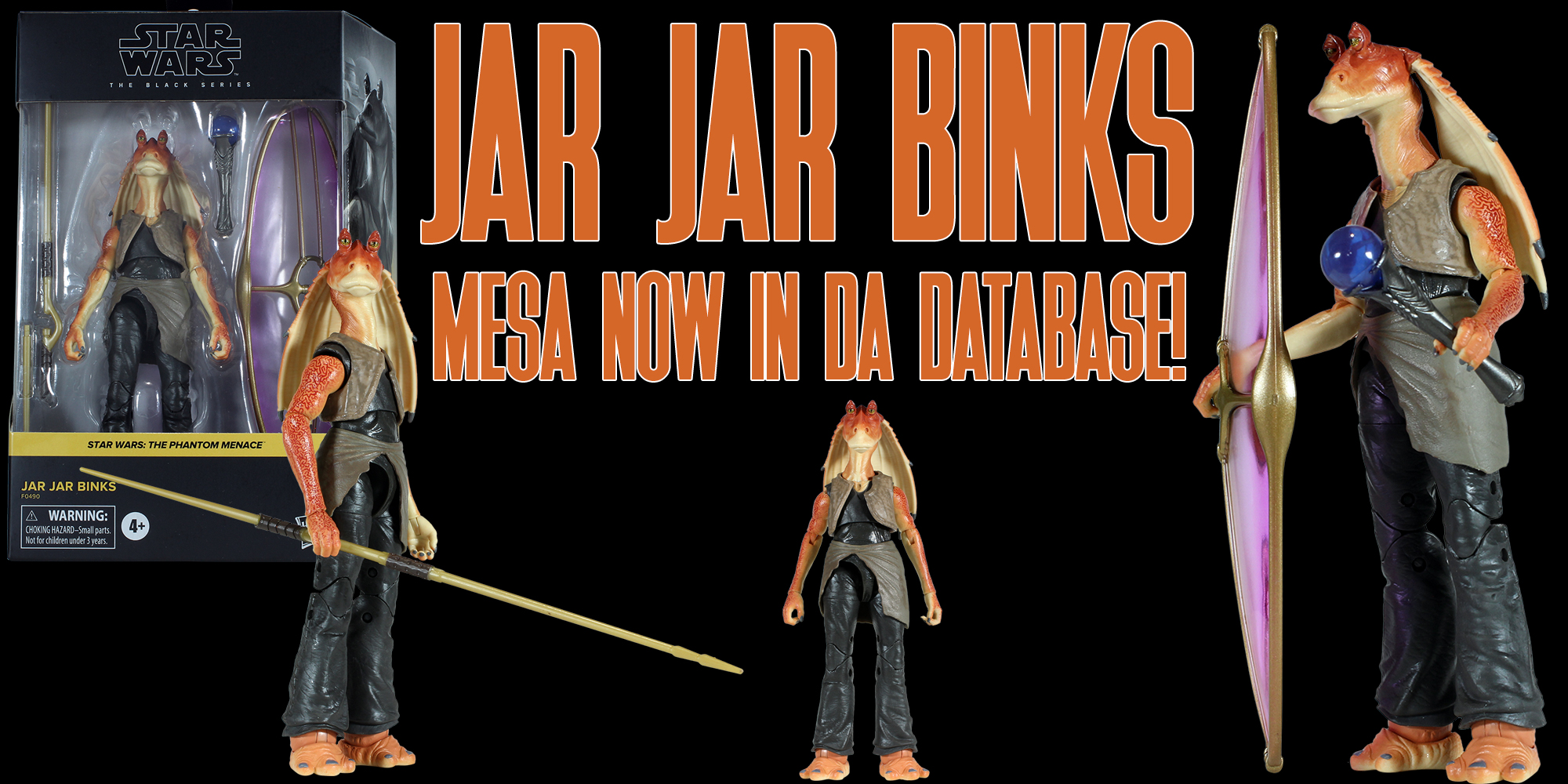 Black Series Jar Jar Binks