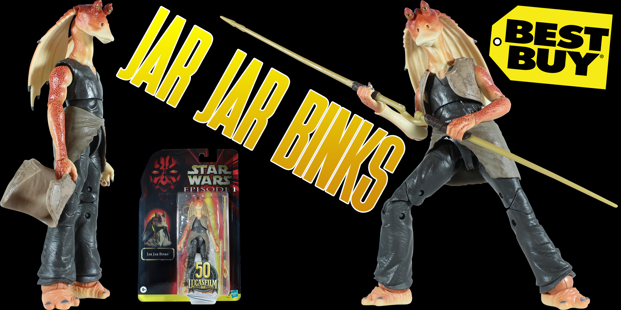 Black Series Jar Jar Binks Best Buy