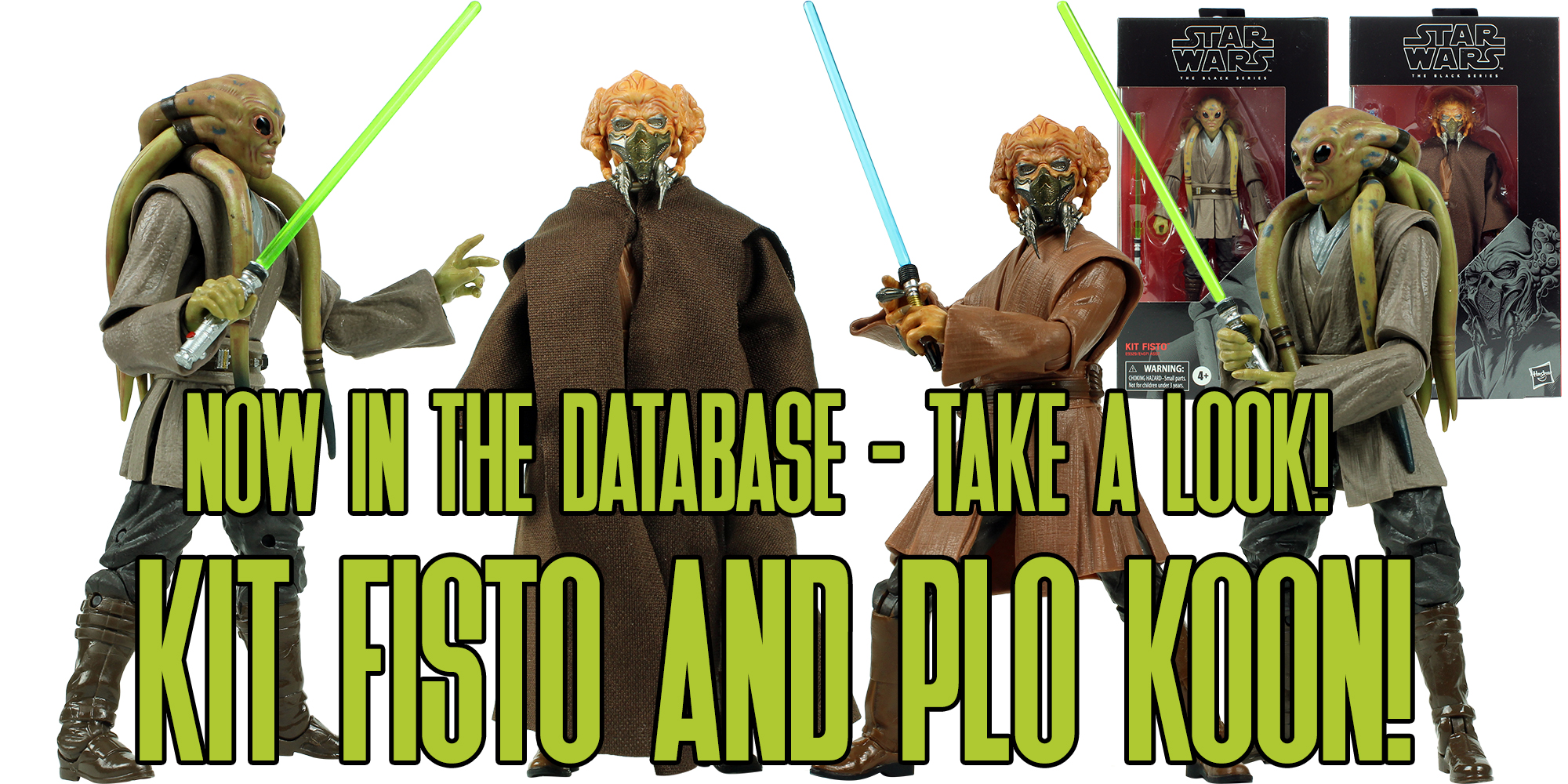 Black Series Kit Fisto And Plo Koon