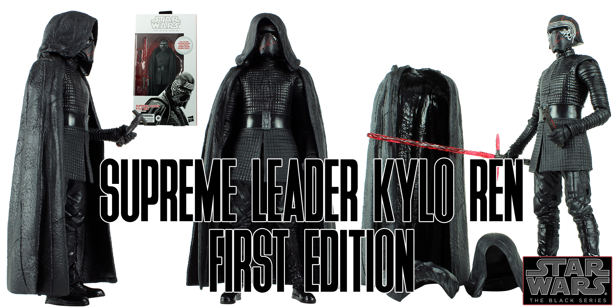 Black Series Kylo Ren First Edition