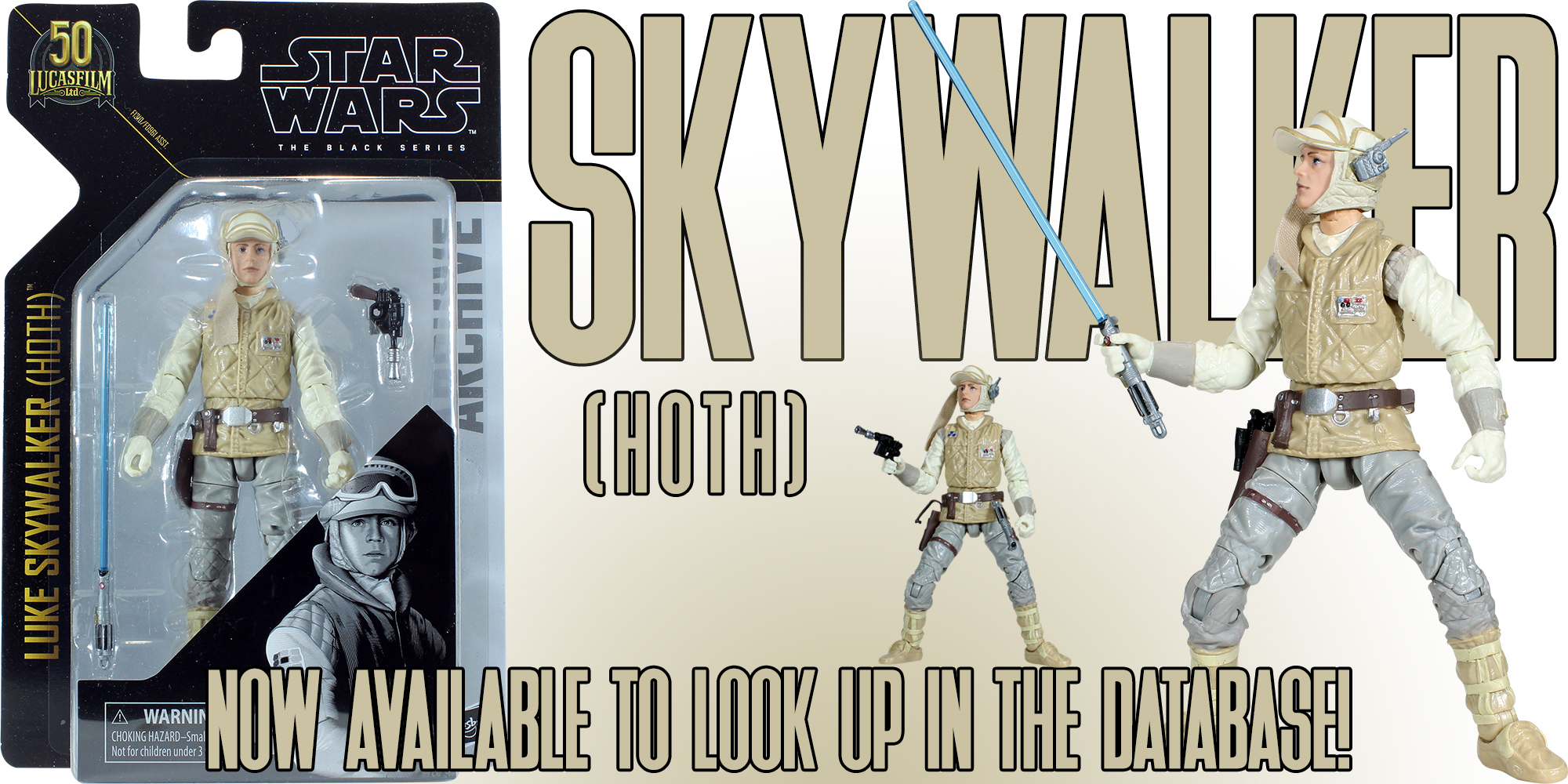 Black Series Luke Skywalker Hoth