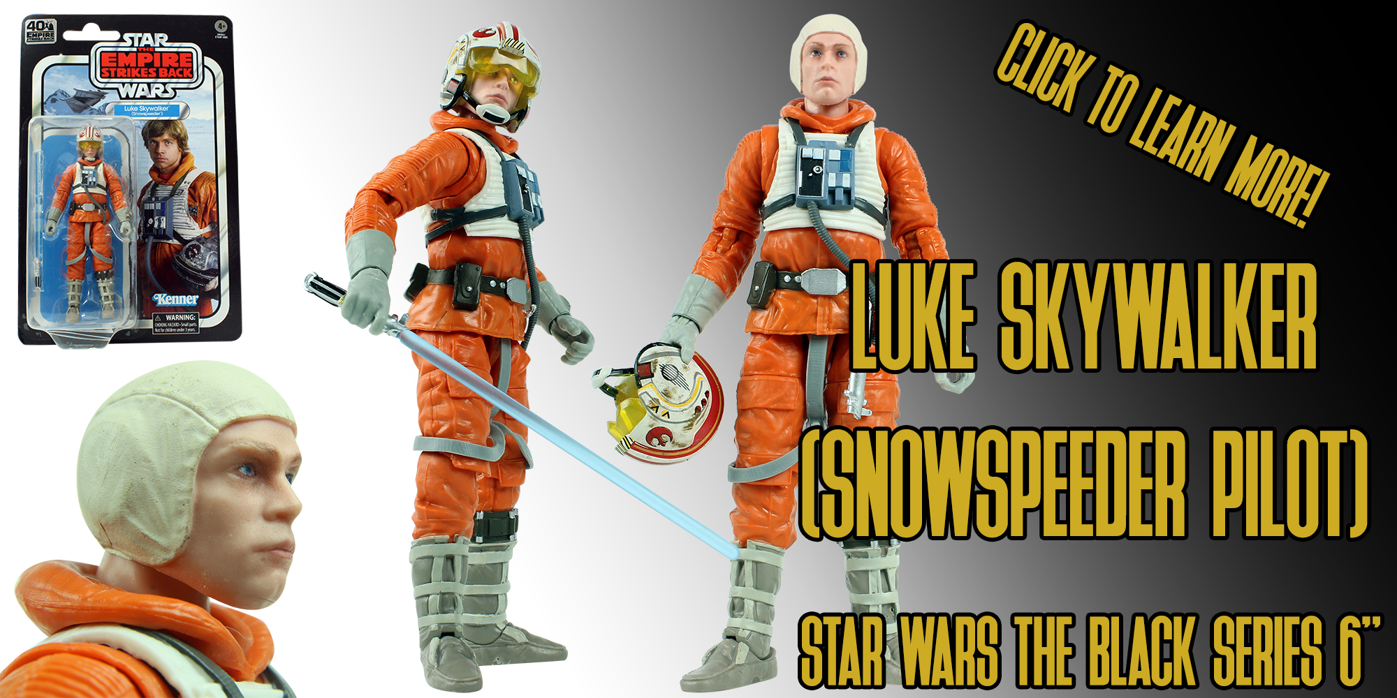 Black Series Luke Skywalker Snowspeeder Pilot