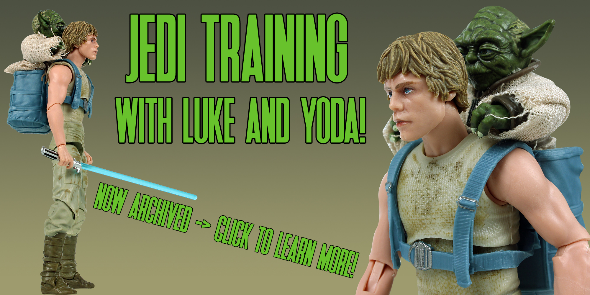 Black Series Jedi Training