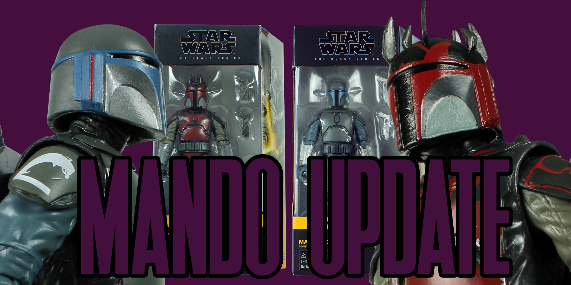 Black Series Mandalorians