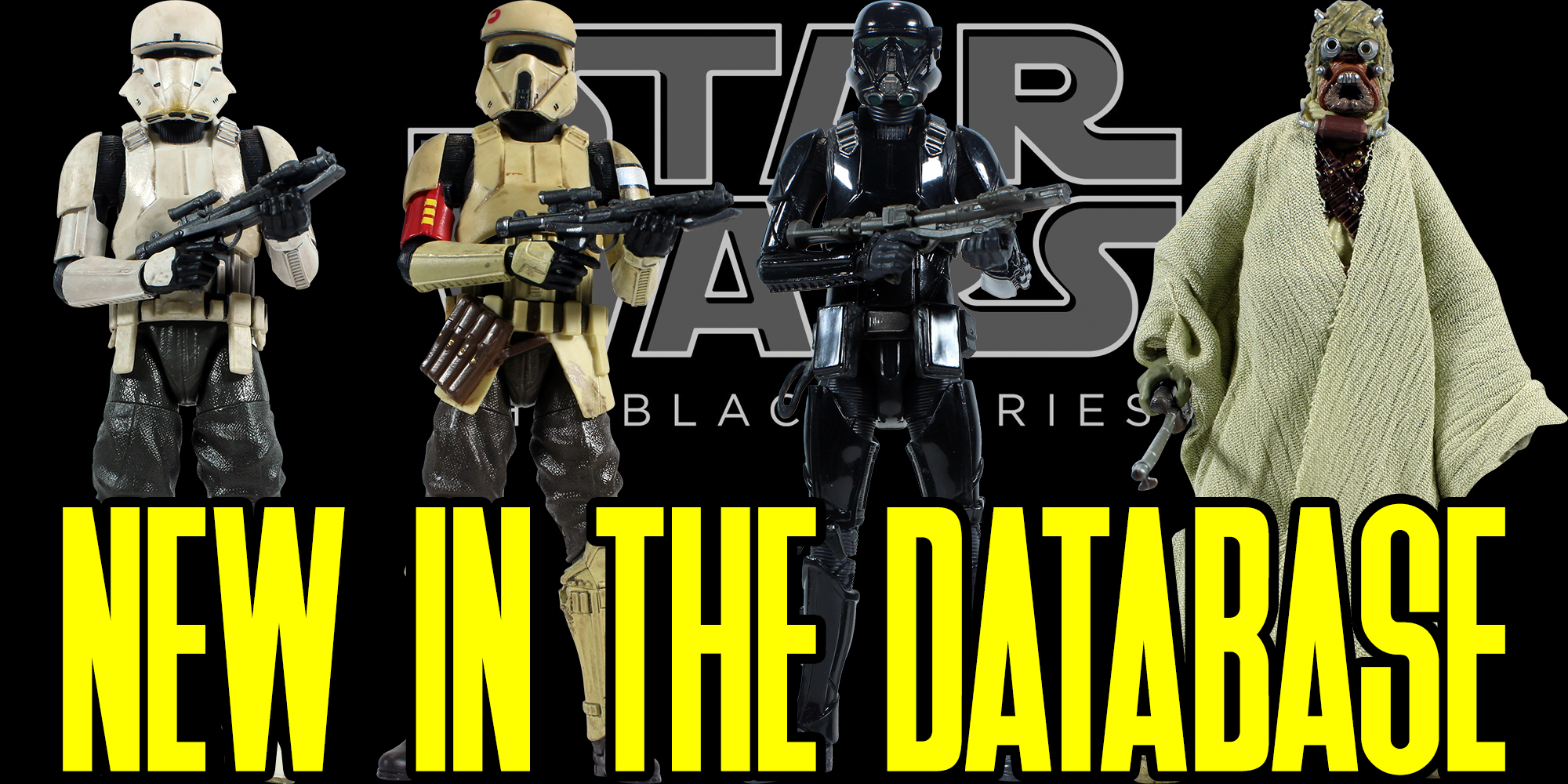 New Black Series figures