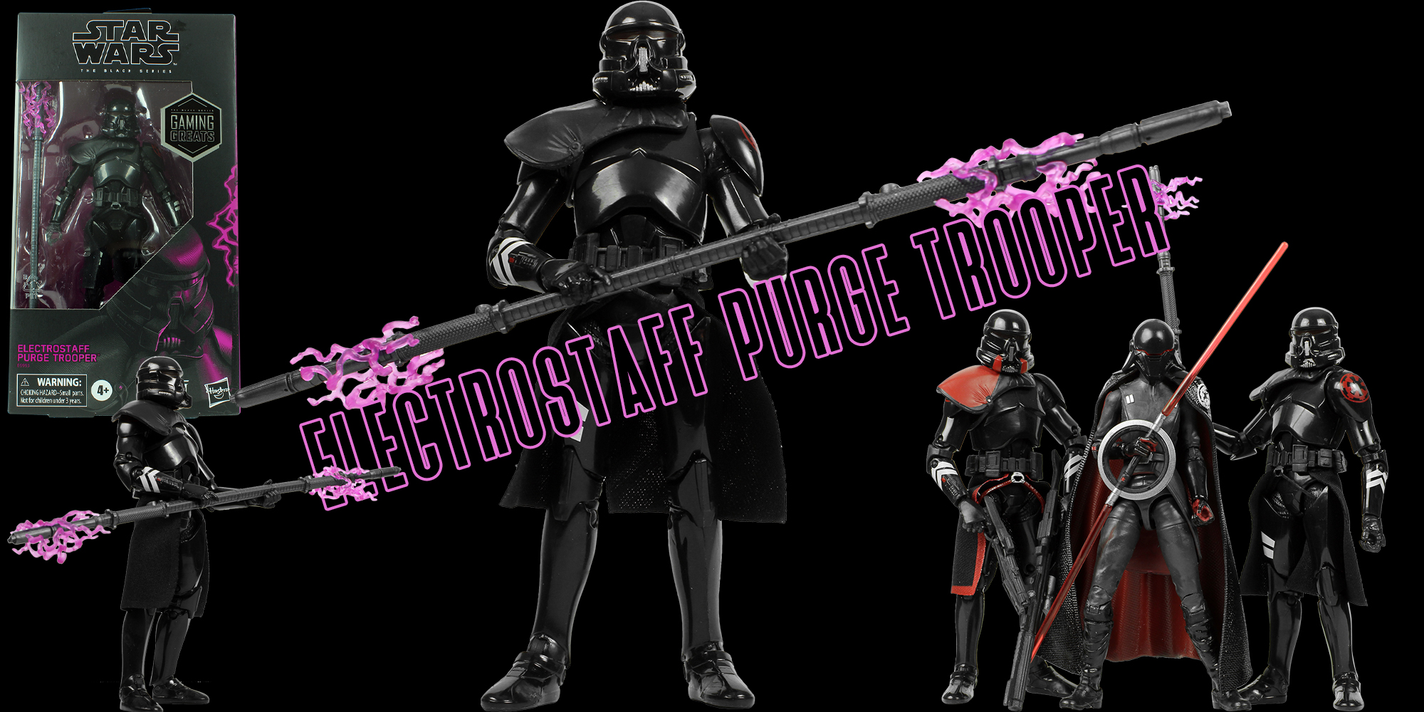 Black Series Electrostaff Purge Trooper
