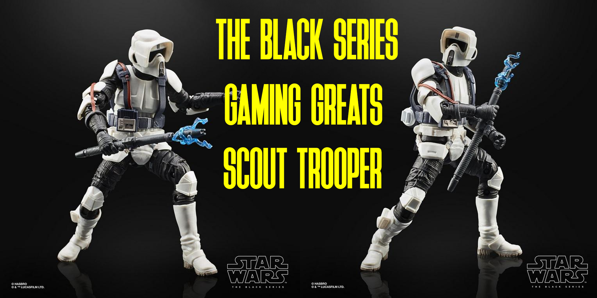 Black Series Scout Trooper