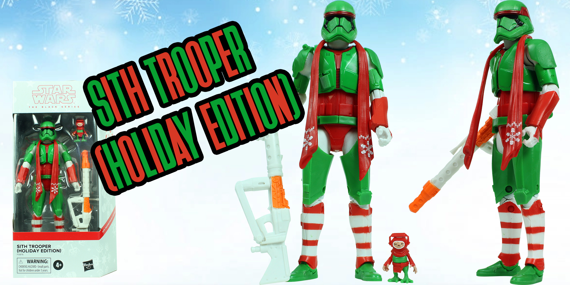 Black Series Sith Trooper Holiday