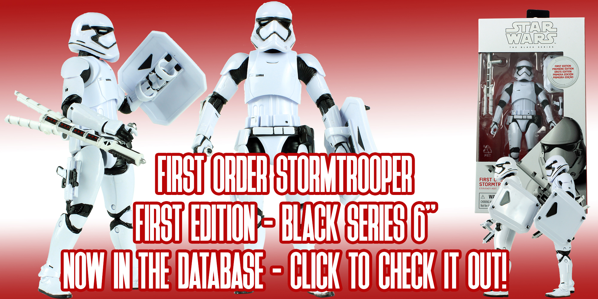 Black Series Stormtrooper First Edition