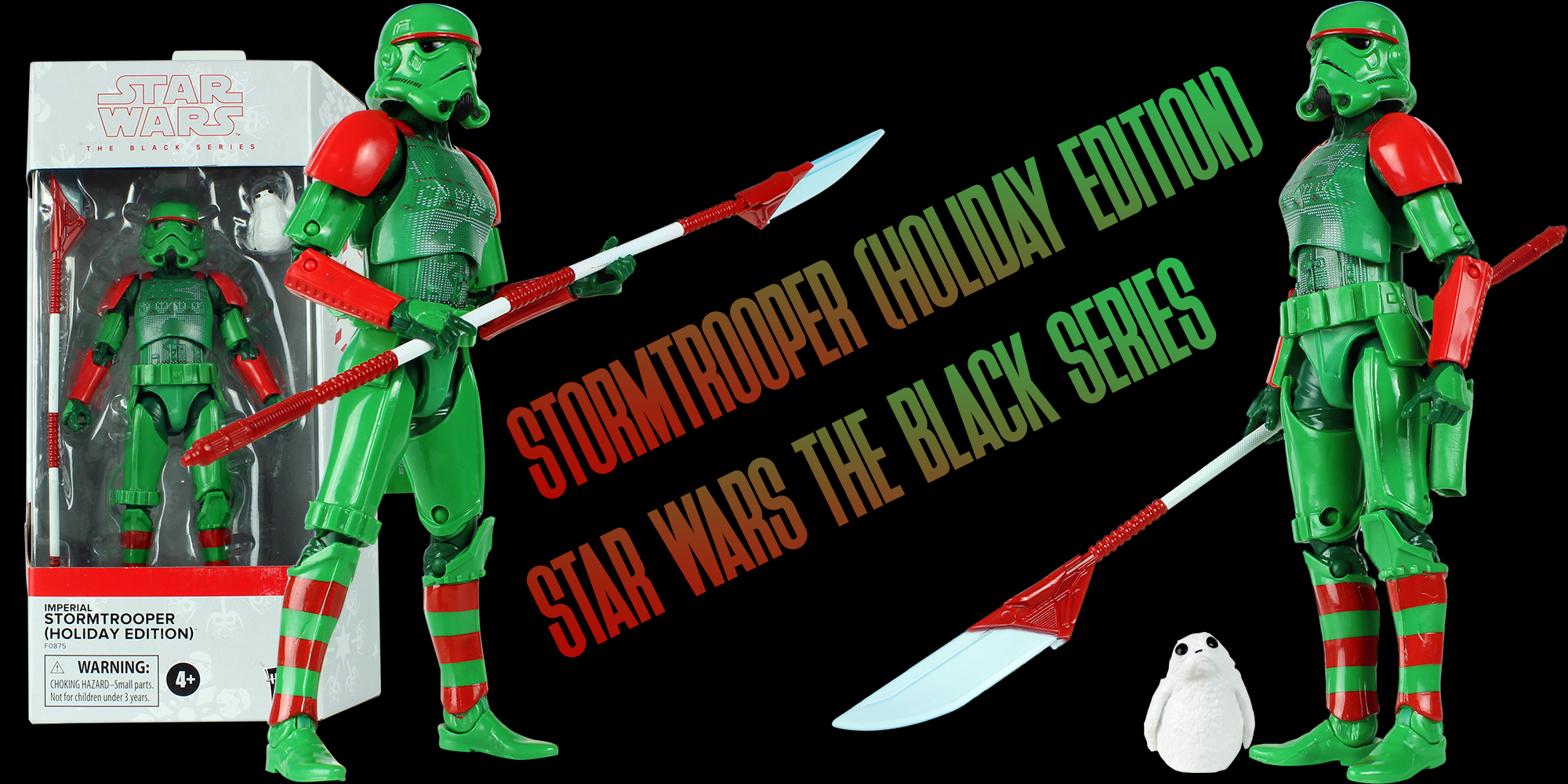 Black Series Stormtrooper Holiday Edition