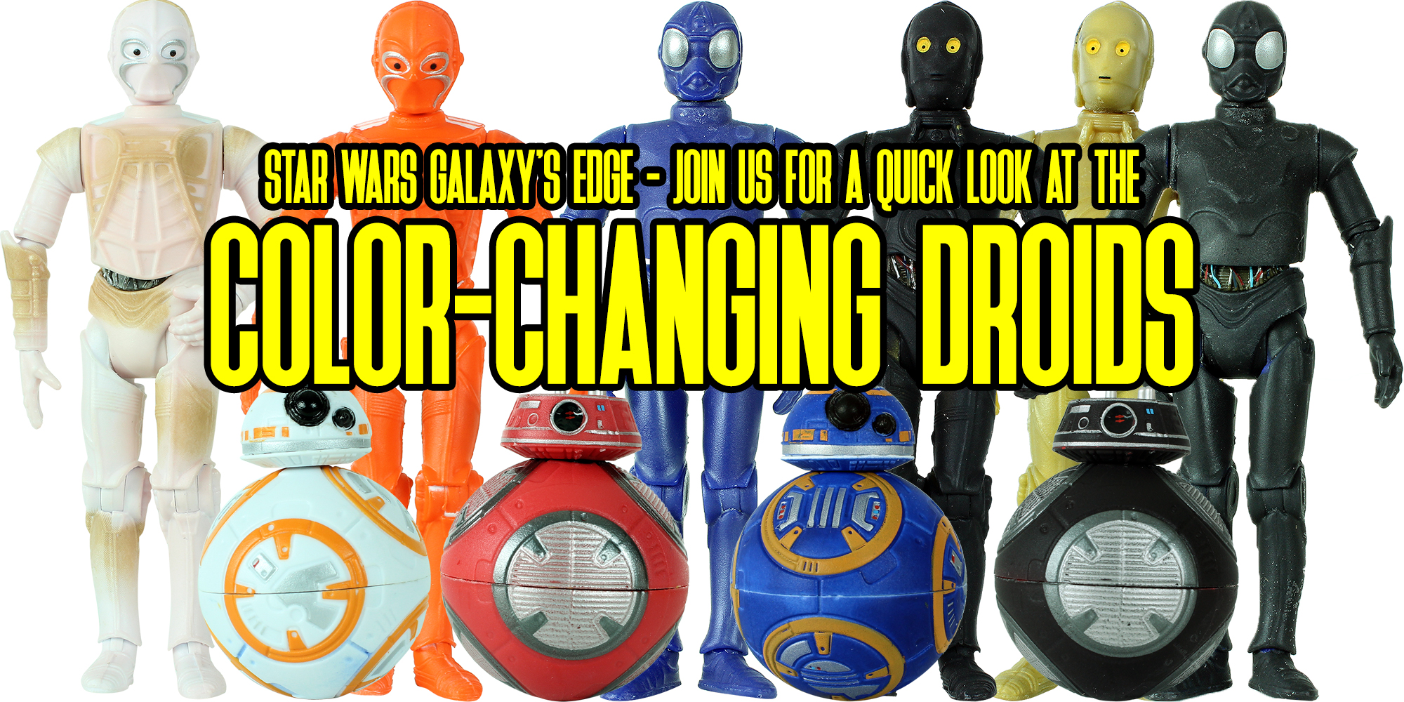 Color-Changing Droids