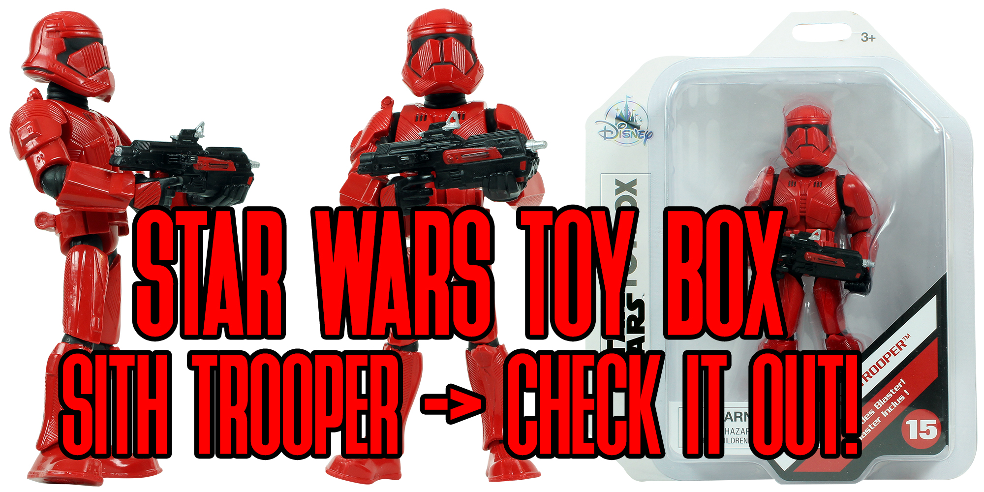 Toy Box Sith Trooper