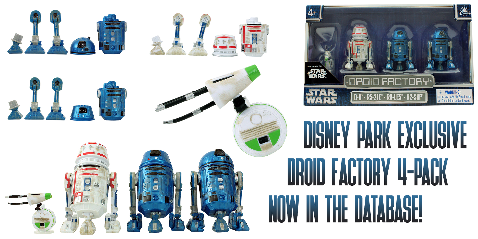 Droid Factory 4-Pack